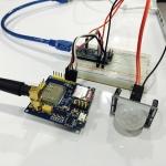 Arduino with GPRS/GSM A6 module & PIR Motion sensor