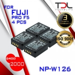 PRO F5 แบตเทียบและแท่นชาร์จ Fuji NP-W126 X-PRO1 X-PRO2 XA1, XA2 XA3 XT10