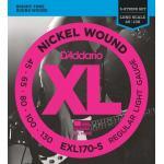 D'Addario EXL170-5 45-130