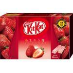 คิทแคทรสสตรอเบอร์รี่ญี่ปุ่น KitKat Amaou Strawberry 3 ห่อ