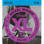 D'Addario EXL 120 Super Light