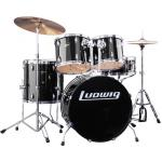 "Ludwig Accent LC175 (5Pcs Drum with 13"" Hihat + 16"" Crash)"