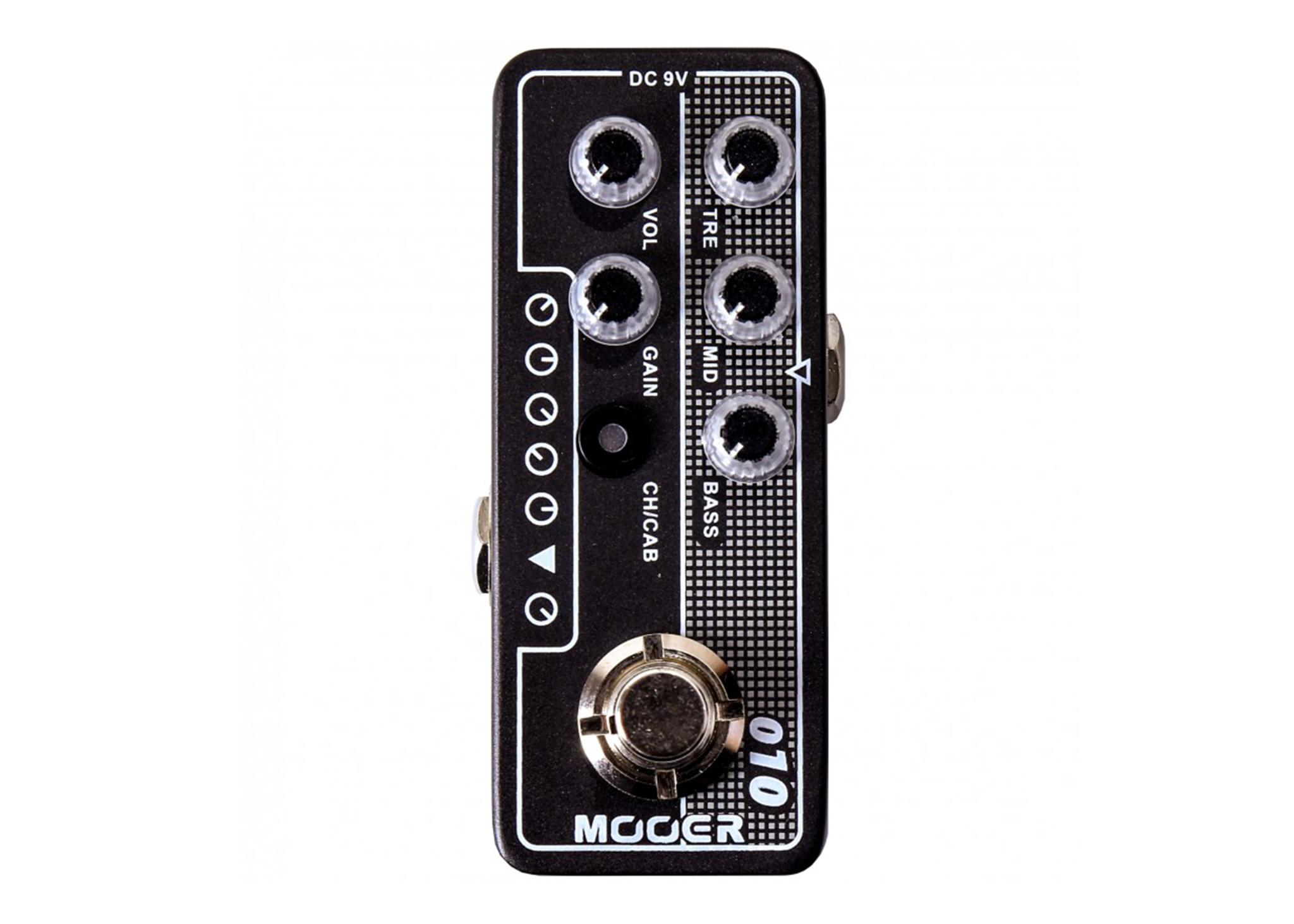 Mooer Micro Preamp 010 Twotones - TwoRock Coral