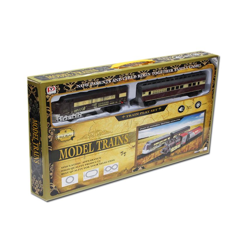 Wisher Toys Model Trains:Train Rail Master รถไฟขนส่ง