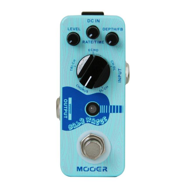Mooer Baby Water - Acoustic Guitar Delay&&Chorus Pedal
