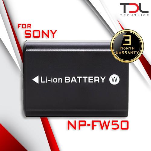 Pro S1 แบตเทียบ Sony NP-FW50 ตระกูล A7 ตระกูล NEX A5100 A6000 A6300 A6500