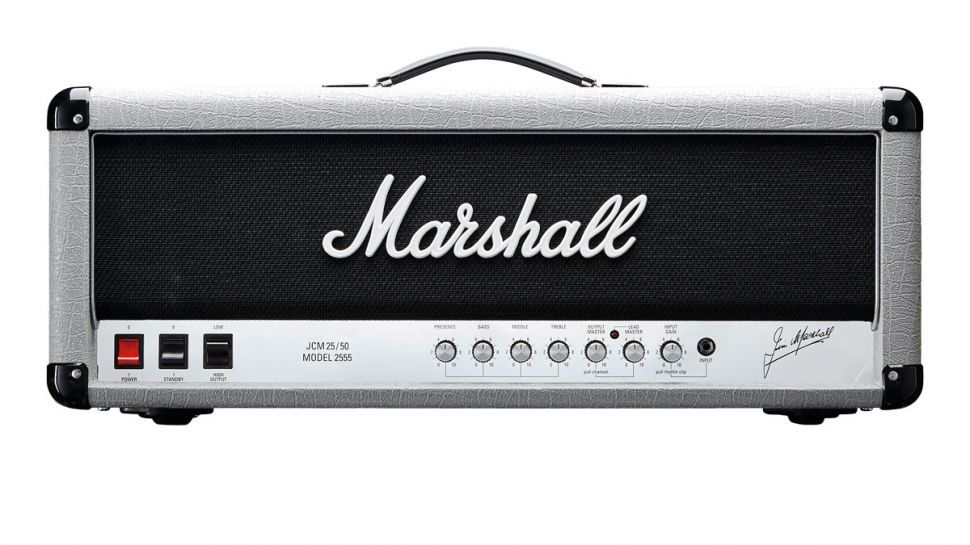 Marshall 2555X Silver Jubilee Re-Issue Head