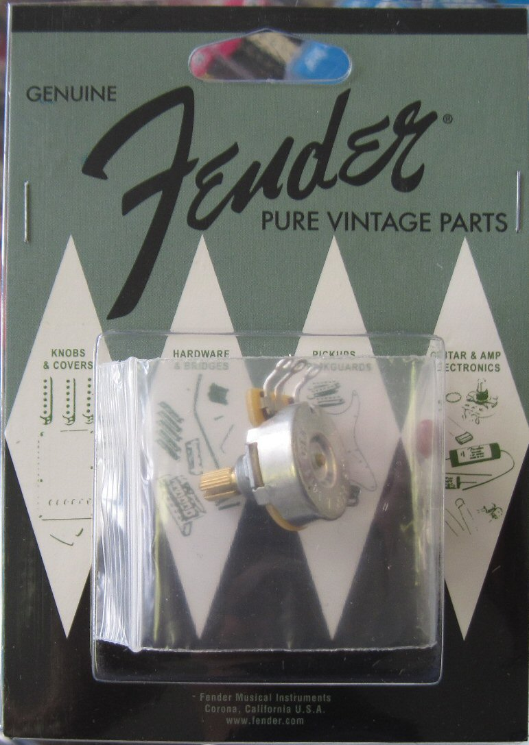 Fender Pure Vintage 250k Split Shaft CTS Pot 0990830000