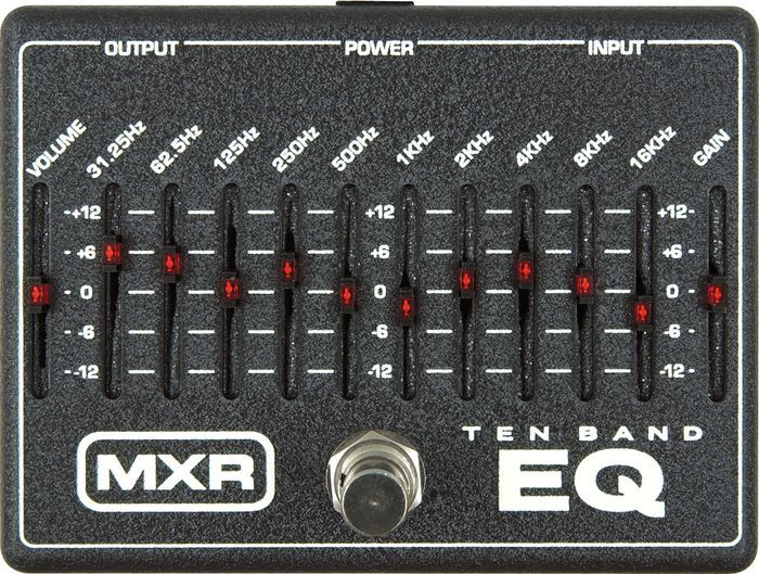 Jim Dunlop MXR 10-Band Graphic EQ M108