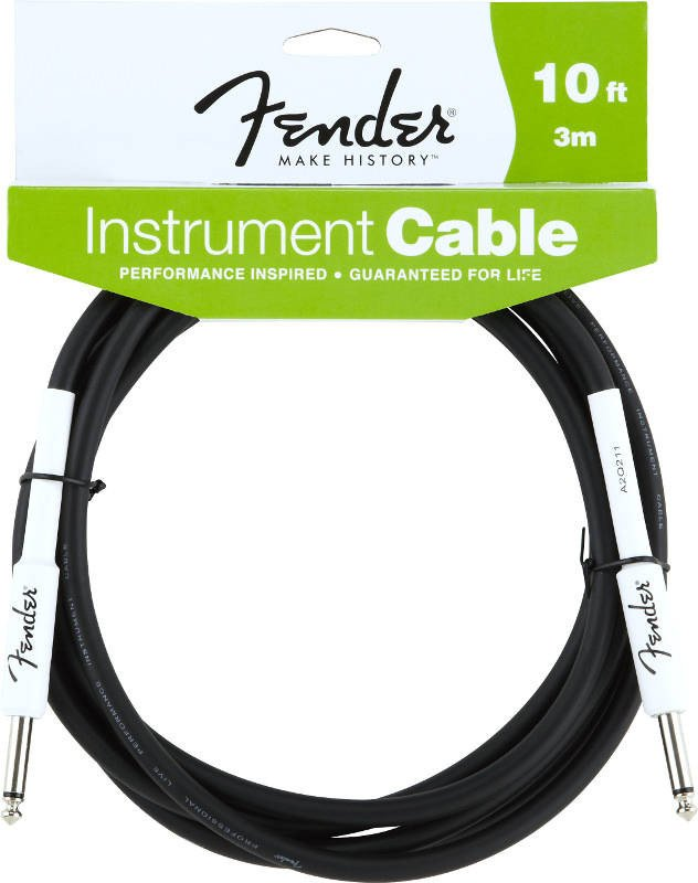 Fender Performance Series Instrument Cable 10 Feet