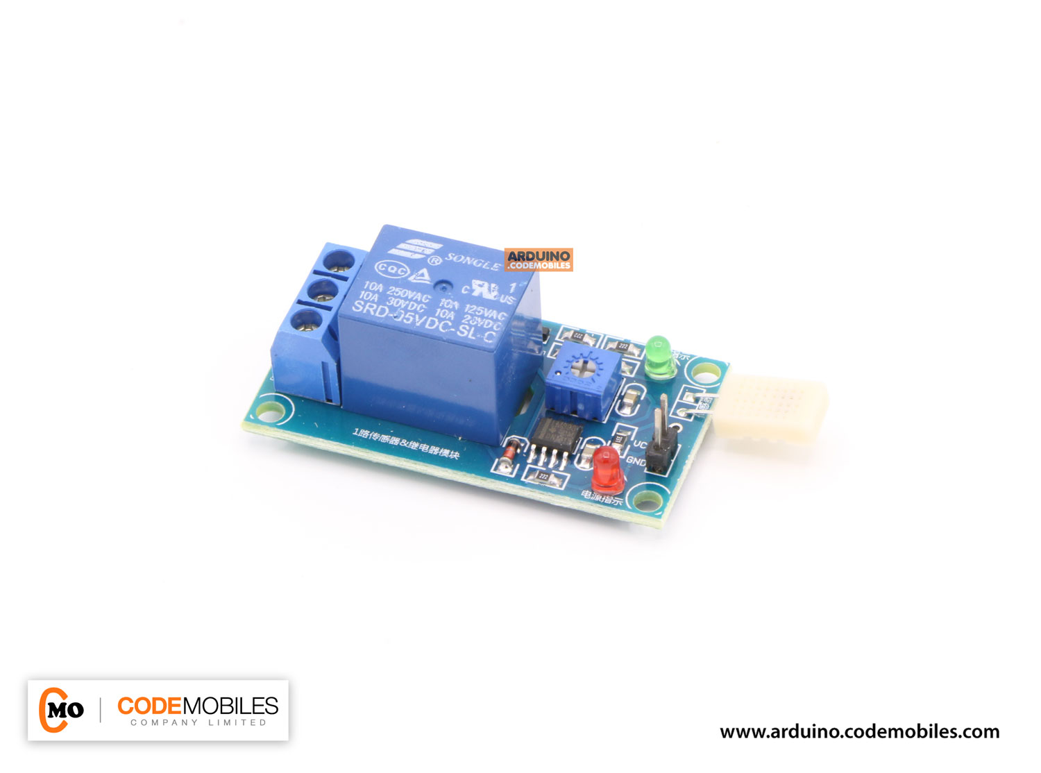Humidity Sensor with Relay Switch Module