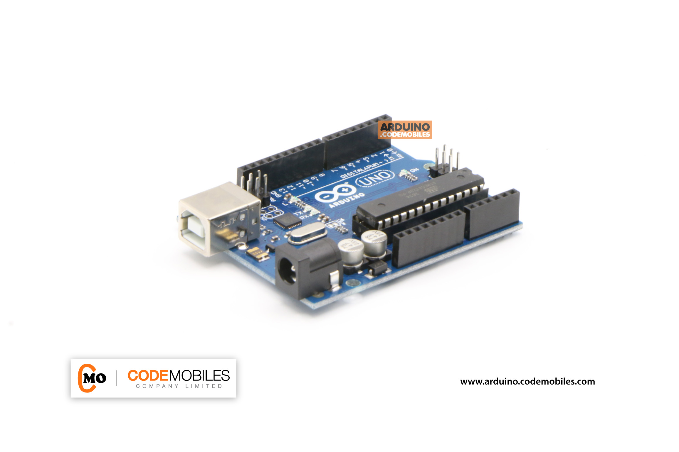 Arduino UNO R3 (แถมสาย USB Type A Male/B Male Cable)