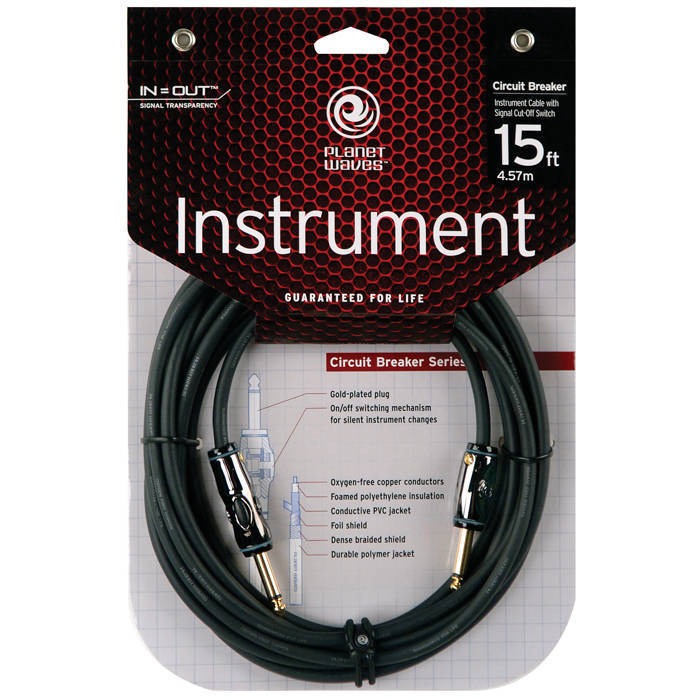 Planet Waves Circuit Breaker Cables AG-15