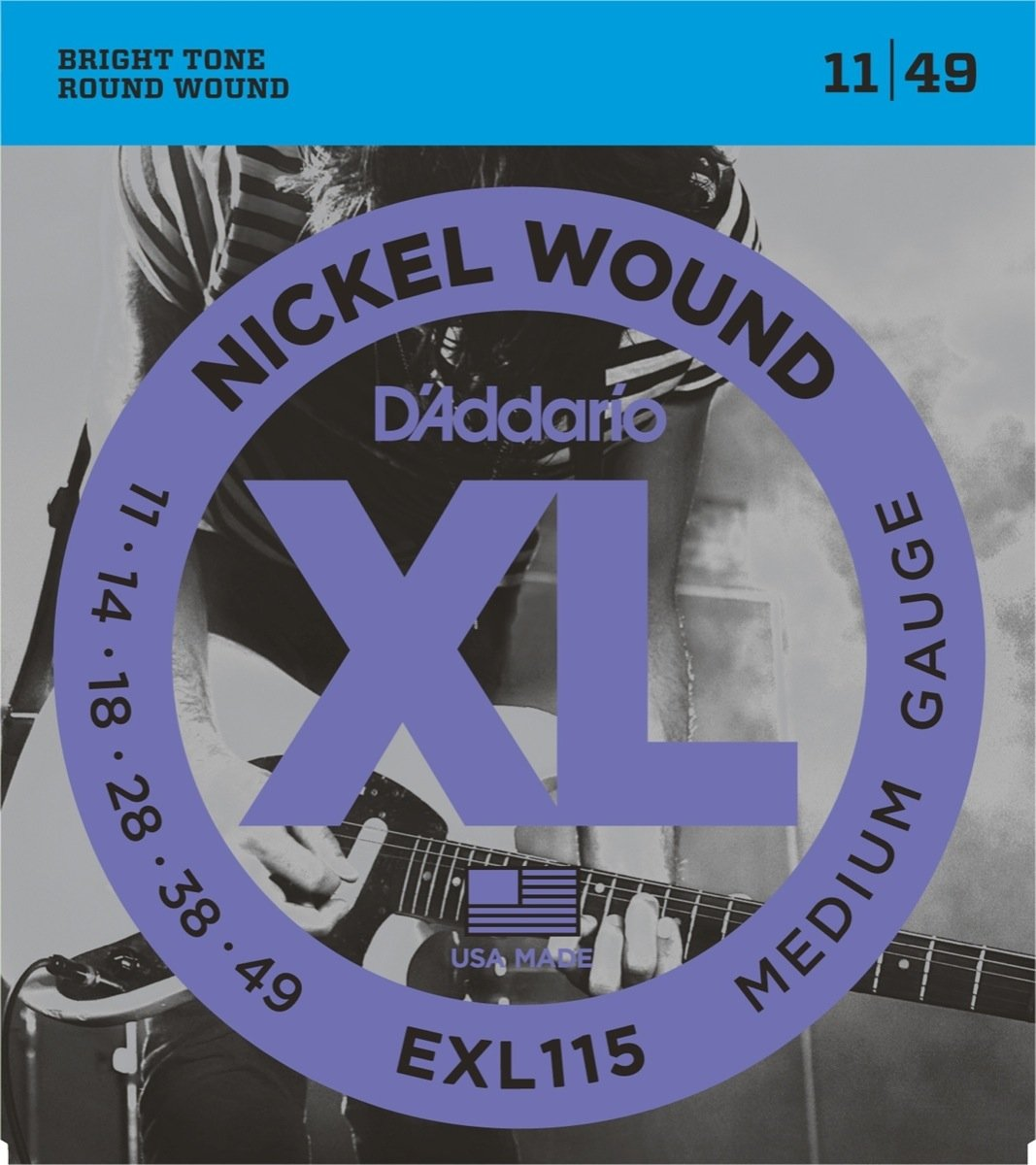 D'Addario EXL 115 Blues/Jazz Rock