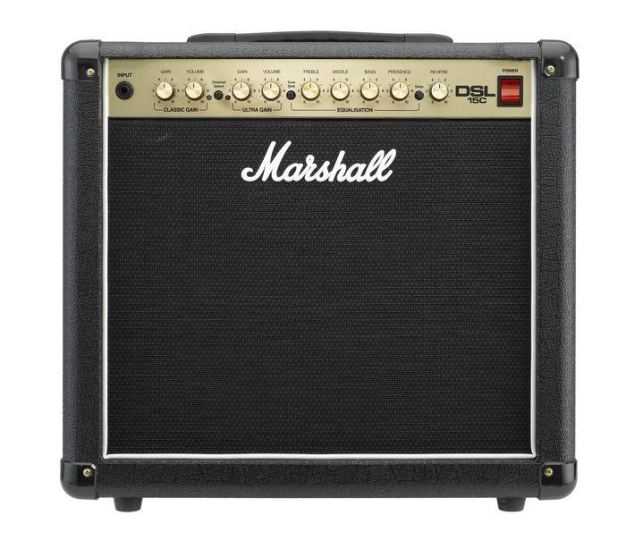Marshall DSL15C Tube Combo Amp