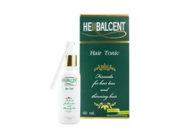 Herbalcent Hair Tonic แก้ปัญหาผมบาง ผมร่วง ศีรษะล้าน 60 ml