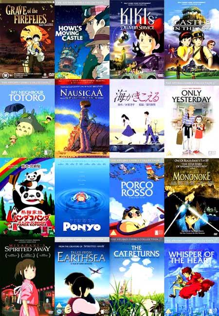 DVD การ์ตูนระดับโลกของสตูดิโอจิบลิ (Studio Ghibli Collection) 19 แผ่น (แถมพิพิธภัณฑ์จิบลิอีก 1 แผ่น)