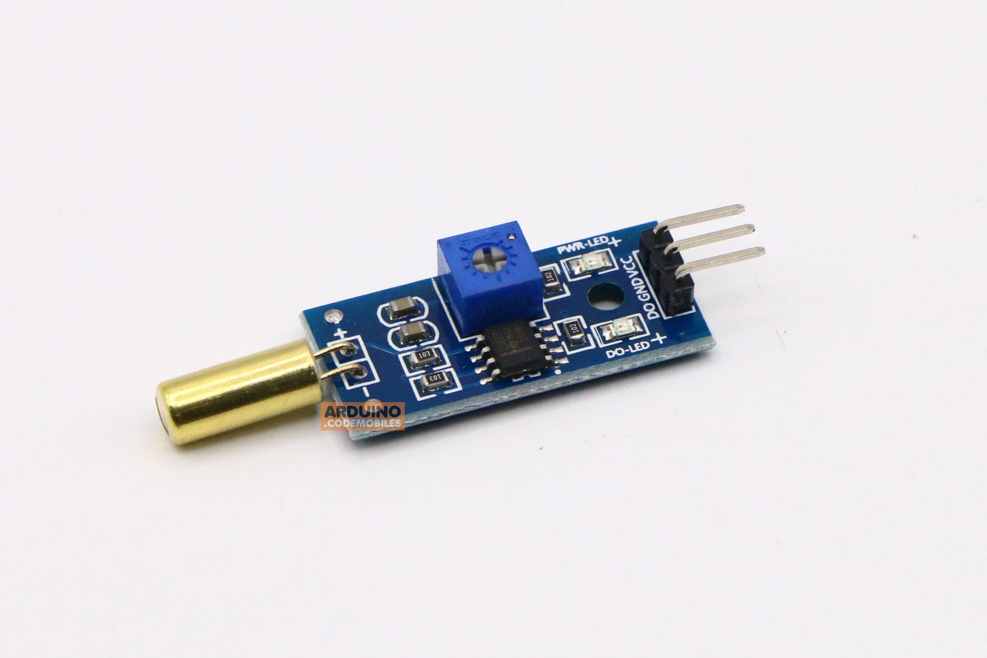 XD-06 Tilt Sensor Module โมดูลตรวจจับความเอียง