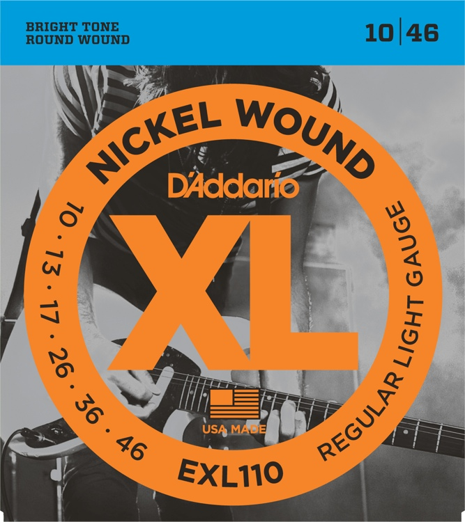 D'Addario EXL 110 Regular Light Gauge