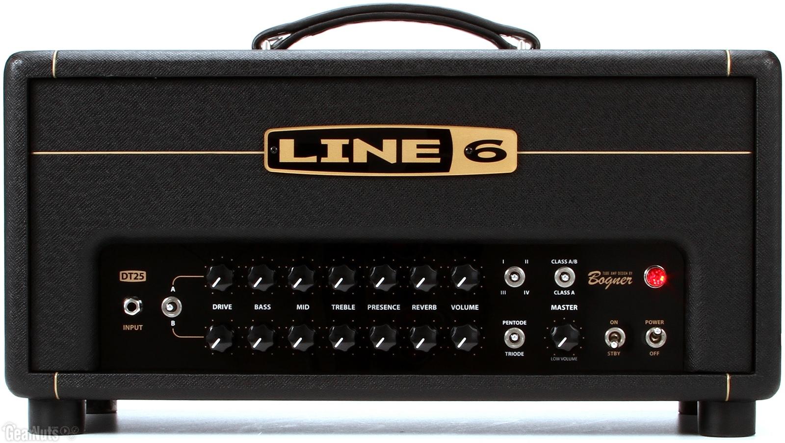 Line 6 DT25 Tube Guitar Head Amp by Reinhold Bogner
