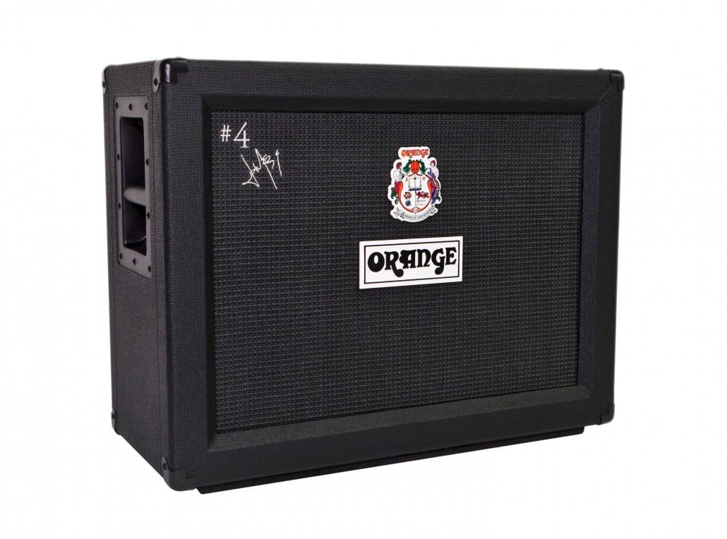 Orange Jim Root Signature Speaker 2x12 Cabinet
