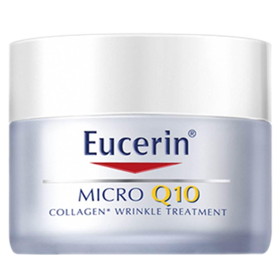 Eucerin Micro Q10 Day Rich 50ml ยูเซอริน ไมโคร คิวเท็น 3D ฟิลเลอร์ เดย์ ริช