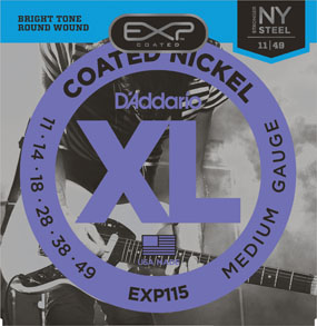 D'Addario EXP115 Coated