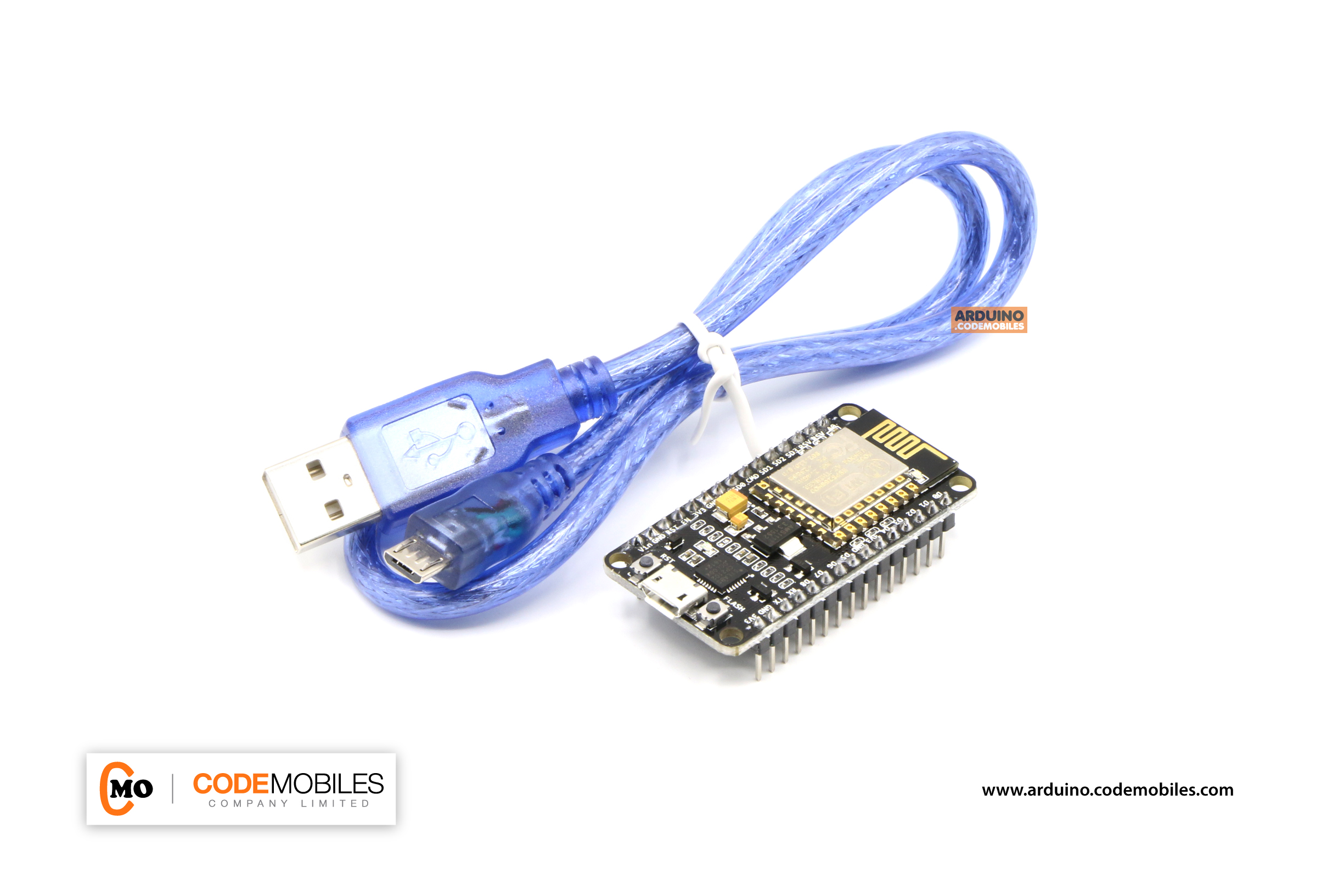 NodeMCU Development Kit V2 แถมสาย USB