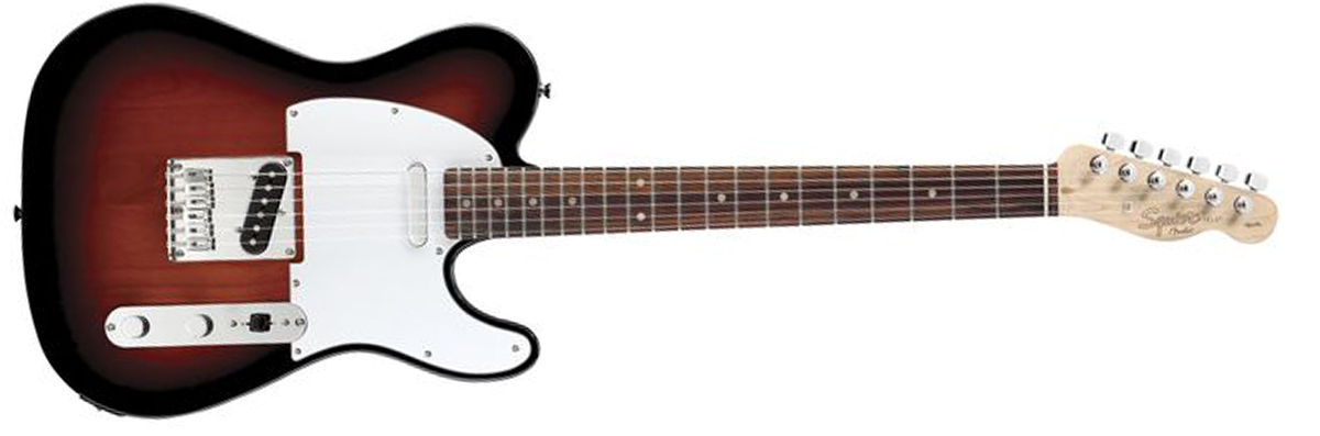 SQUIER Affinity Series Telecaster Rosewood Fingerboard
