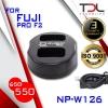 PRO F2 แท่นชาร์จแบต Fuji NP-W126 X-PRO1 X-PRO2 XA1, XA2 XA3 XT10