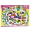 Worktoys แป้งโดว์กล่องจัมโบ้ครบเซ็ท ชุดใหญ่ Fast Food Color ClaySeries พร้อมแป้งโดว์ 10 กระปุก (หลากสี)