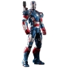 Hot Toys โมเดล ฟิกเกอร์ Iron Man 3 Iron Patriot Limited EditionCollectible Figurine 1/6 scale.