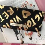 กระเป๋าสตางค์ ทรงใบยาว ซิปรอบ ยี่ห้อ VICTORIA'S SECRET รุ่น Limited edition