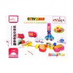 Perfect Toys ชุดร้อยเชือกลูกปัดรูปรถและยานพาหนะ