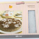 แผ่นแต่งหน้าเค้ก แผ่นทำ ลายเค้ก 5 แบบ BAKE248