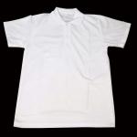 เสื้อโปโล สีขาวล้วน ไม่จั๊มแขน SHIRT007 ราคาประหยัด มีของพร้อมส่ง