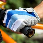 ถุงมือเจล ถุงมือจักรยาน ครึ่งนิ้ว BIKE282 M/L/XL