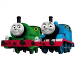 Thomas & Friends หัวรถไฟใส่ถ่าน Thomas Percy (2ชิ้น)