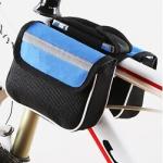 กระเป๋าคาดเฟรม กระเป๋าติดจักรยาน BIKE234 สีน้ำเงิน