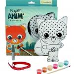 Avenue Mandarine Doll to paint รุ่น Super Anim รูปการ์ตูน MALICE(กล่องสีเขียวเข้ม) เหมาะกับเด็ก 5ขวบขึ้นไป สำหรับฝึกจินตนาการเด็กพร้อมอุปกรณ์ในกล่อง การ์ตูนMALICE1 ตัว, สีอะคริลิ 6ขวด, กลิตเตอร์ 1ขวด, พู่กัน 1 ด้าม, ริบบิ้น 50ซม. 1 เส้น
