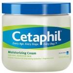Cetaphil Moisturizing Cream for Dry, Sensitive Skin 453 g สำหรับผิวที่บอบบางผิวแห้งและแพ้ง่าย หรือผิวหนังอักเสบ