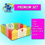 POPOHO Safety Fence for Baby Premium Set รั้วกั้นเด็ก คอกเด็ก รั้วเด็ก