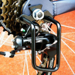 ที่กันตีนผีจักรยาน BIKE211 สีดำ/สีเงิน