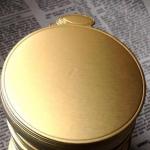 กระดาษทอง รองคัพเค้ก 8 CM อย่างหนา 10 แผ่น BAKE190
