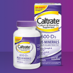 Caltrate Plus 600 mg. (Vitamin D & Minerals) 60 เม็ด