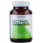 Vistra Lecithin 1200mg Plus Vitamin E 75 เม็ด วิสทร้า เลซิติน 1200 มิลลิกรัม พลัส วิตามิน อี