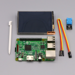 "Raspberry Pi 3 Model B+ / Display 3.5 Touch Screen"" / DHT11 Digital Temperature and Humidity Sensor"