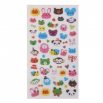 Cute Animals Puff Stickers Diary Scrapbook Card making Colourful