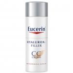Eucerin Hya CC Cream 50 ml ยูเซอริน ไฮยาลูรอน ฟิลเลอร์ ซีซี ครีม