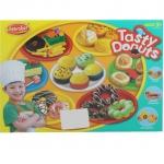 BKL TOY ของเล่น แป้งโดว์ แป้งปั้น ชุดโดนัท Tasty Donuts 4008A